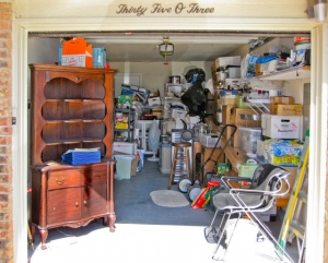 Our garage was full - before we started emptying it