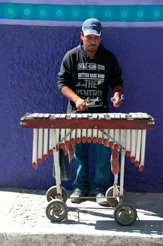Xylophone Street Musician