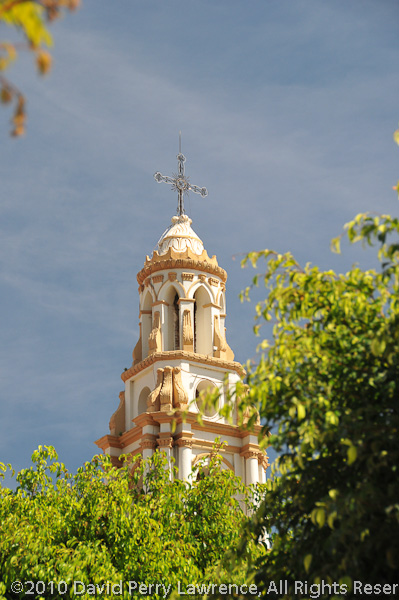 This is one of two churches in the plaza in Ajijic.