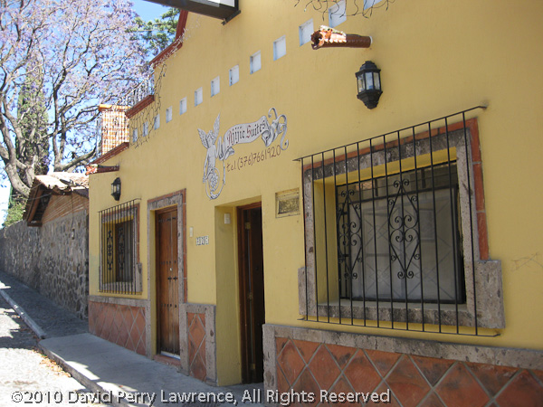 Ajijic Suites - A small and charming hotel just up the block from our home.