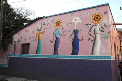 Another picture from August of 2009 of a shop in the Village of Ajijic.