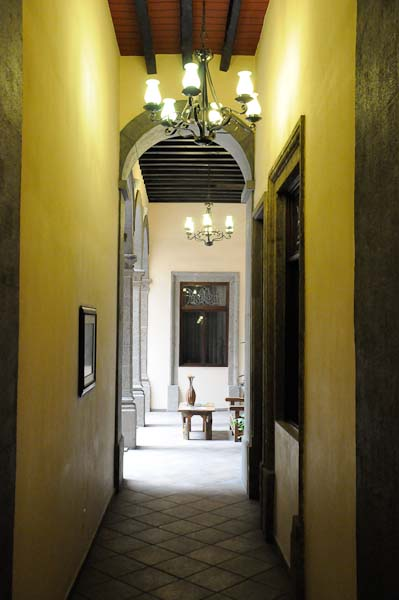 This hallway conjured up visions of the people who had visited in its storied past.