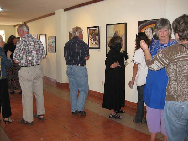 Photos taken at the opening of the exhibit.